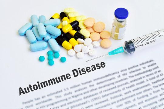 Drugs for autoimmune disease
