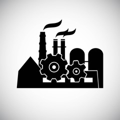 Vector factory icon. Eps 8