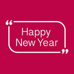 Happy New Year celebration background. Vector illustration
