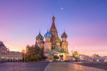 Stores à enrouleur Moscou Собор Василия Блаженного