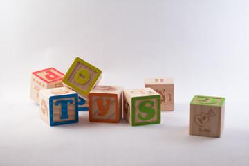 Toy Alphabet Blocks