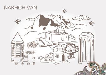 Nakhichevan Azerbaijan historical land