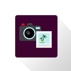 Camera and photo icon