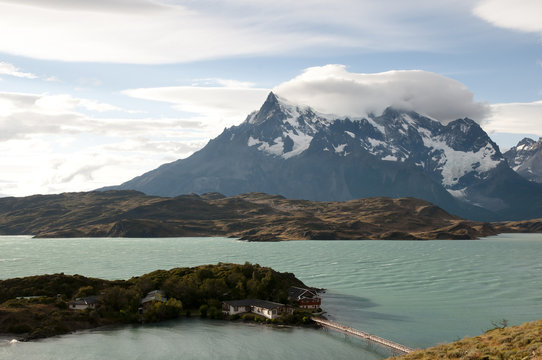 Pehoe Lake - Torres Del Paine National Park - Chile