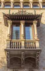 Typical residential building in Barcelona