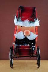 Dekorativer Weihnachtsmann