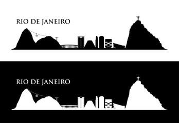 Wall Mural - Rio De Janeiro skyline