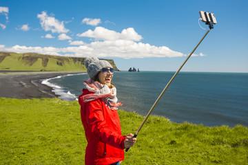 A selfie in Iceland