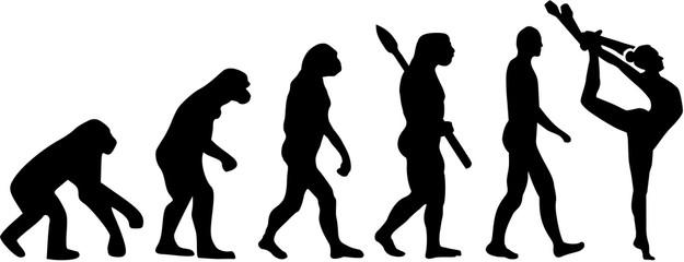 Gymnastics evolution with clubs