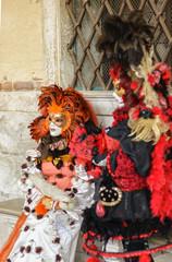 Autocollant pour porte Venise Venice Carnival CARNEVALE di VENEZIA