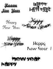 new year_graffitti text