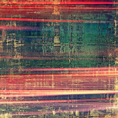 Beautiful antique vintage background. With different color patterns: yellow (beige); red (orange); blue; green; pink