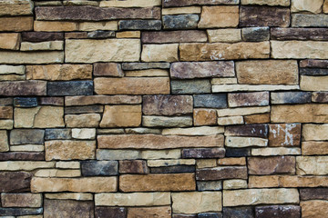 Rock wall vintage background
