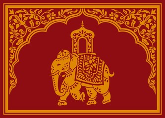 Elephant, festival , Jaipur, Royal Rajasthan, India, Asia