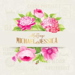 Rose mallow garland