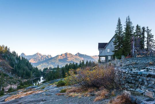 scenic view in Mt Baker,Washington,USA.