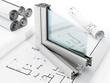 PVC window detail