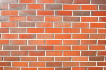Ściana z cegły klinkierowej