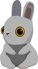 Rabbit  illustration vector