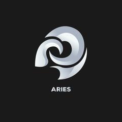 aries logo vector
