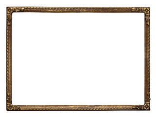 ornate metal frame