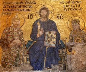 Orthodox frescos on the walls