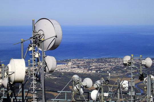 réseau antenne relais ondes
