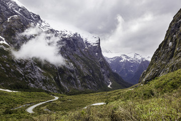 Fiordland national park, Milford Sound, New Zealand