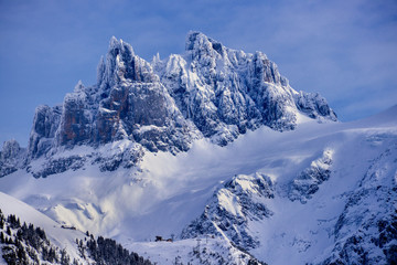 Mountains in the Alps, Obwalden, Switzerland
