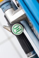 german gas station Super unleaded
