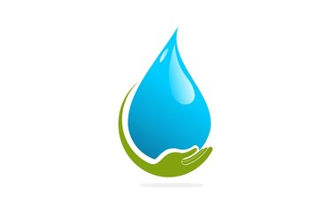 mission water logo social