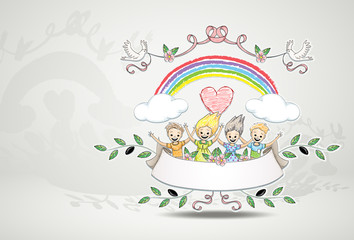 happy children / childhood and friends