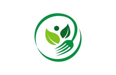 fork organic logo