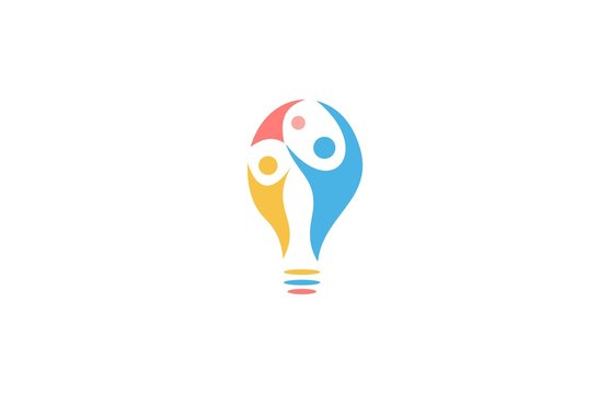 people bulb logo