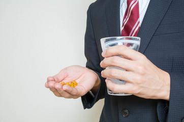 ビジネスマン 薬