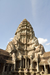 ancient building in Cambodia