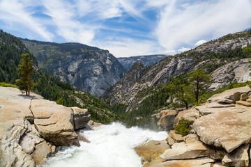 Wall Mural - Top of Nevada Fall, Yosemite National Park