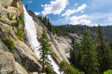 Wall Mural - Nevada Fall, Yosemite National Park