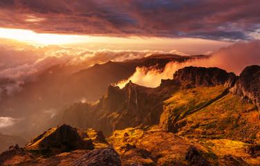 Madeira mountain