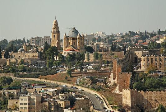 Mount Zion in Jerusalem. Israel