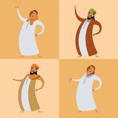 Set of muslims