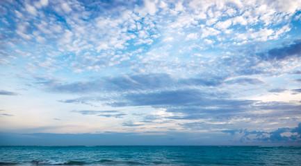 Peaceful sea panorama