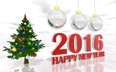 Greeting Card New Year