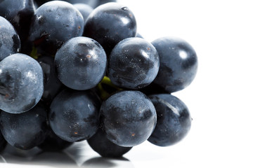 Collection of Fresh Grapes on Bright Backgroup Up Close Fototapete