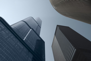 Modern architecture. Chicago skyscrapers.
