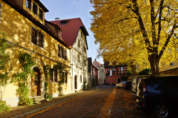 alte Häuser in der historischen Altstadt