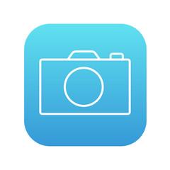 Camera line icon.