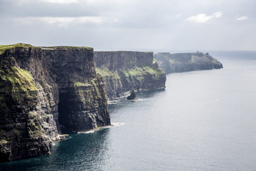 Looking towards the south, Cliffs of Moher, Ireland