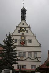 Historische Haus in Rothenburg
