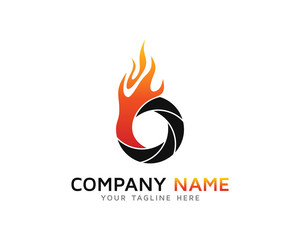 On Fire Photography, Fireshot Camera Logo
